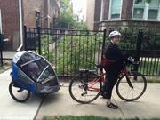 Eliana's first bike ride