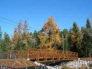 In Conover, WI, - Hwy 45 bridge
