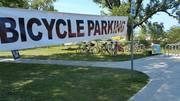 Gary Air Show Bike Parking