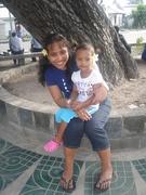 Akka n her little princess Naomi