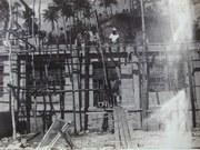 02 The construction of Buakonikai church. Early 1970s