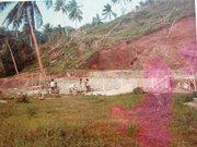 17 The building of Talatala's house. Buakonikai 1980s
