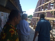 Construction of Banaba's Boat Tarawa- Banaba Rehabilitation Trip