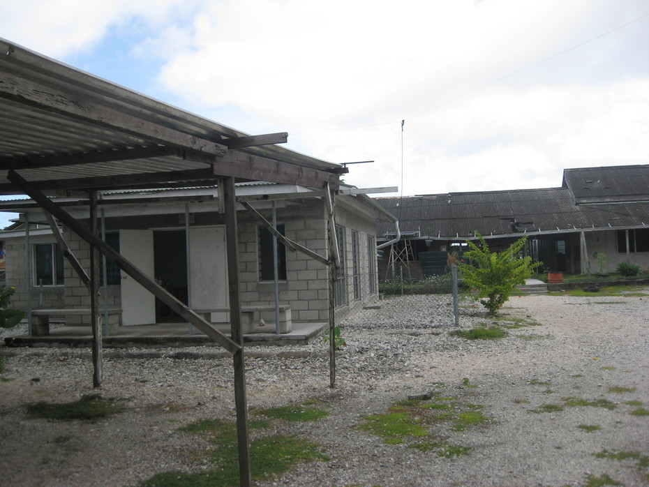Banaba Visit - Banaba Rehabilitation Team