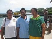 Saying farewell to Banaban families on Banaba