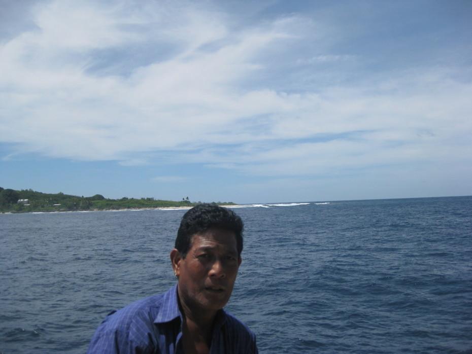 Ken Sigrah Leaving Banaba