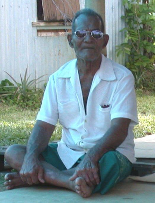 Buakonikai elder: Touongo Teirei