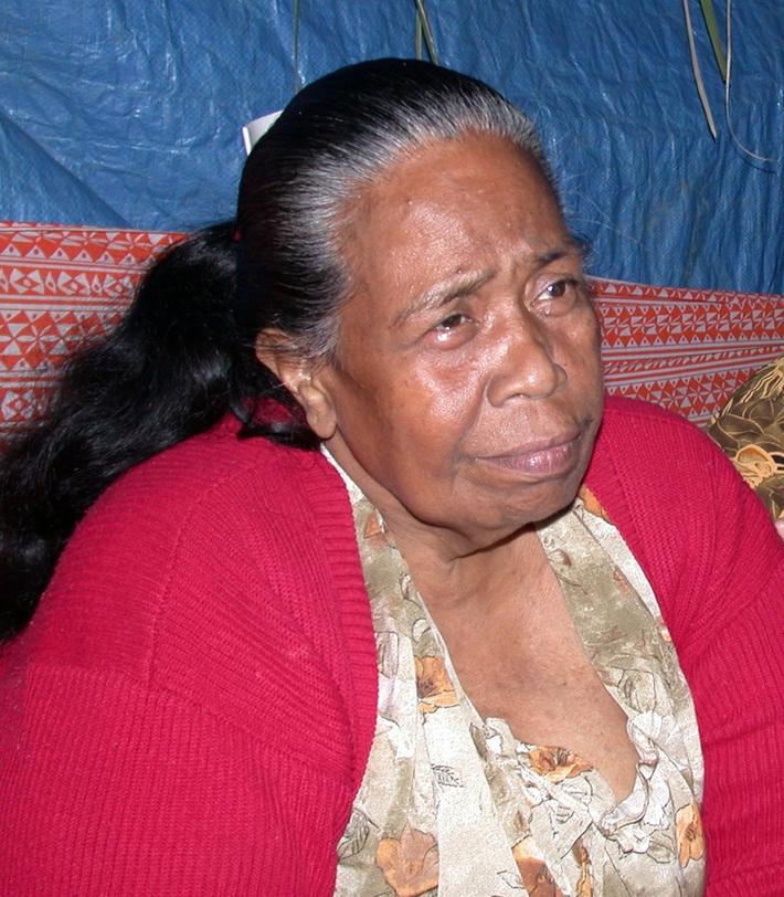 Buakonikai elder: Nei Baitere Taake