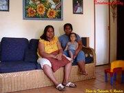 Teri & Fay @ home Brisbane 2004