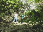 My scenery photo - Palikunna &  me @ Lelu ruins, Kosrae 2005
