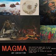 """นิทรรศการ """"ศิลปกรรม กลุ่ม MAGMA"""""""
