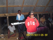 Aintoa Fiji Tour 2011..Baabai singing away @ Aintoa maneaba