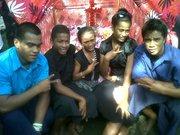 Tawi's childre Left to Right- Richard (a), Uraia, Ttake, Teian, Beriki (a)