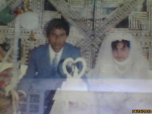 14th January 1968...Self and hubby Betarim.