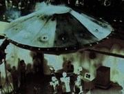 The first UFO I built on its fist flight