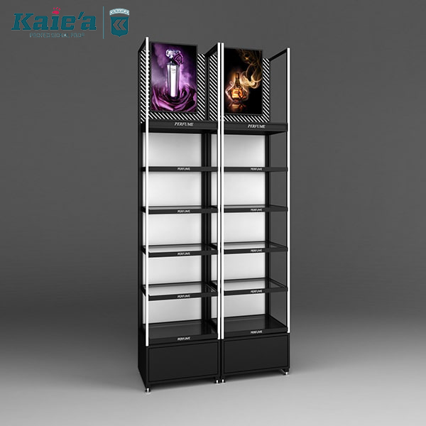 Kaierda cosmetics display shelves