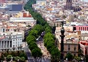 Las Ramblas - Barcelona Espana