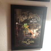 Jeff Wayne's War of the Worlds Musical Lithograph