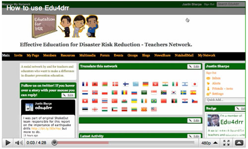 How to use Edu4DRR effectively - A step-by-step guide