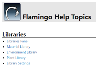 Tutorials and Documentation - Flamingo nXt