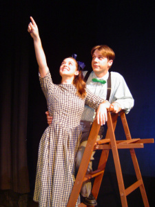 Actors performing 'Our Town' at the Parkway Playhouse (parkwayplayhouse.wordpress.com)