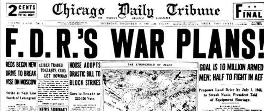 chicago_tribune_headline_december_1941_fdrs_war_plans