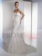 Natural Sleeveless Lace Chapel Train Wedding Dresses au