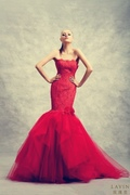 Colored wedding dresses for brides