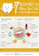 7 Quick Ways to Whiten Your Teeth