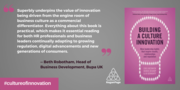 Building a Culture of Innovation Book