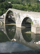 The Devil's Bridge at Borgo, Italy