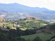 Descending toward Saint' Antimo