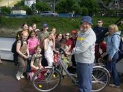 Hal on Rhine Ferry with kids 3