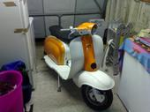 my current scooter, nearly finished