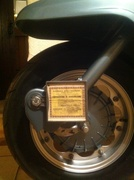 Licence disc