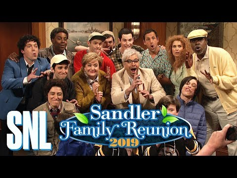 "Watch ""Sandler Family Reunion"" SNL Sketch"