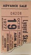 Last show ticket