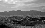 Cerro El Ávila y parte del Valle de Caracas desde el Cerro El Volcán