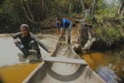 Guías Pemones. Río Karuai, La Gran Sabana, Parque Nacional Canaima