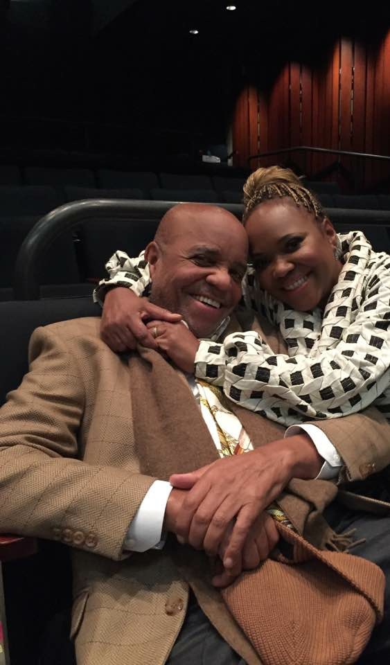 FATHER AND DAUGHTER BERRY GORDY AND SHERRY GORDY