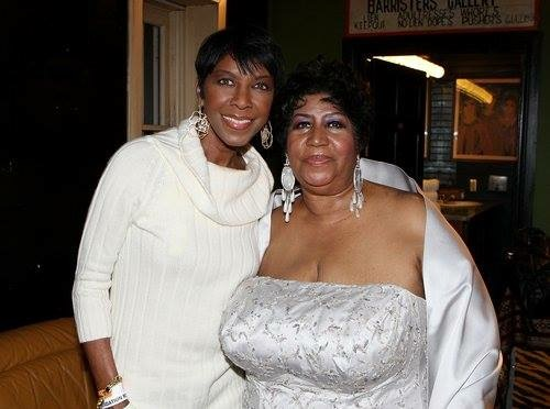 Natalie Cole and Aretha Franklin