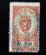 Stempelmerke 2 kr. ST??