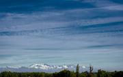 Cordillera de Los Andes desde Talca - Chile