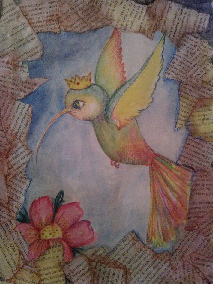 La reina Colibrimiela