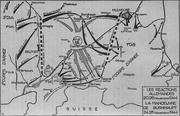 Carte Alsace en novembre 1944