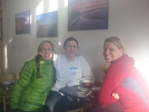 Heather, Amanda and Kristen