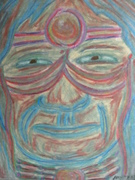 Austen Brauker - ORIGINAL (Spiritual) ARTWORK - Oil Pastels