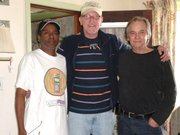 BOB STEELER, EX HOT TUNA DRUMMER, BRUCE BARTHOL ORIG COUNTRY JOE BASS N ICEPACK AT ICEPACK STUDIOS