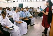 Interacts with religious heads at a seminar at the Catholic Church, Sector 19, Chandigarh, on 20.9.2006