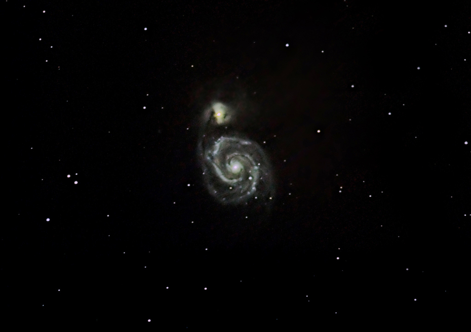 Malströmsgalaxen - M51